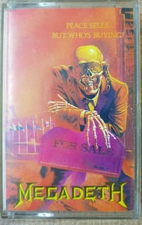 MEGADETH - PEACE SELLS.. BUT WHO'S BUYING - KASET Selimiye