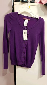 Girls Size Small Purple Sweater - NEW Mississauga, L5M 0B7