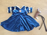 Build a Bear Brave princess Meridia dress