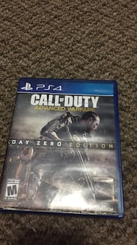 Call of Duty Advanced Warfare PS4 game case New Westminster, V3M 5J9