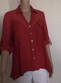 Red Collar Shirt Rancho Cordova, 95742