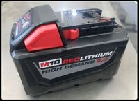 18™ REDLITHIUM™ HIGH DEMANd 9.0 amp hours Battery Pack  $tosell2day