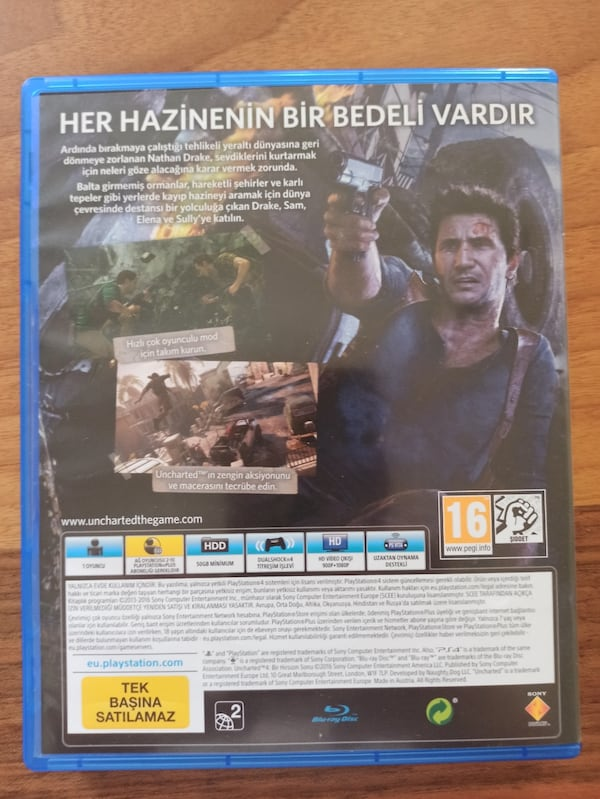 Uncharted 4 - Ps4 b8ebb4c8-7717-4f9f-bd04-4c4154d2bf6d