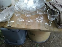 five clear wine glasses New Ulm, 56073