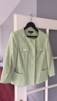 NEUF! Veste Jones New York, vert pomme Bussy-Saint-Georges