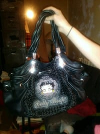 Betty boop black leather purse great condition Long Beach, 90815
