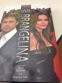 Brangelina  by Ian Halperin. The Untold Story of Brad Pitt and Angelina Jolie. Hardcover Book. Comes from smoke free home. Cash only please. Schaumburg, 60193
