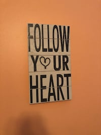 white and black wooden quote board Mount Airy, 21771