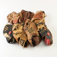 7 Used Baseball Gloves for Assorted positions 5 km