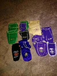 Crown Royal bags Mesquite