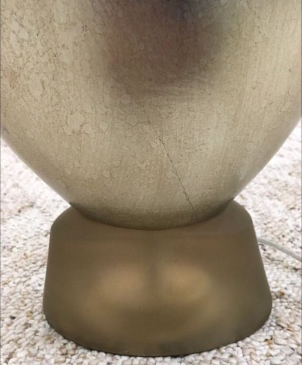 Merchandise Mart Gold Base Table Lamp Parchment Shade f72a7507-68e6-4373-86f0-9563ee1a461c