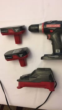 black and red Craftsman cordless hand drill Dublin, 31021