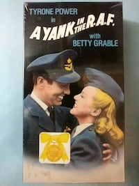 A Yank in the R.A.F. vhs