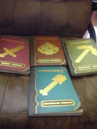 Minecraft book's lot of 4 Sioux Falls, 57103