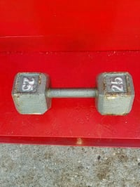 25 lbs gray dumbbell Fort Wayne, 46809