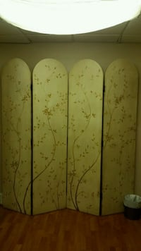 hand painted wood room divider Vienna, 22180