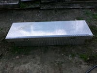 Full size truck crossover diamond plate toolbox  Candler, 28715