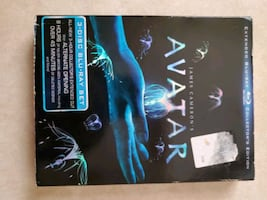 Avatar blu-ray collectors edition.