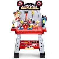 Disney Junior Mickey and the Roadster Racers Pit Crew Workbench Curtis Bay