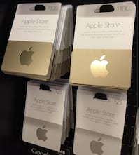Itune cards for sale, affordable prices$50 219 mi