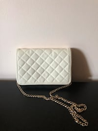 White quilted crossbody purse Toronto