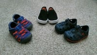 three pairs of toddler's shoes Bluffton, 29910