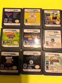 Nintendo DS  games. $5.00  Each. Edinburg, 78542