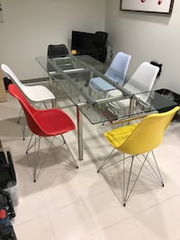table and chairs from SCAN designs