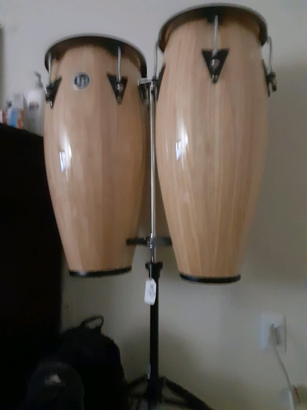 Set of LP congos Barely Used come get them 8093edb6-08b0-4731-b573-c86ccae3c988