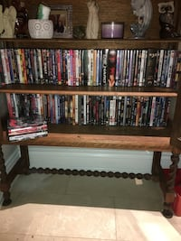 DVD collection .