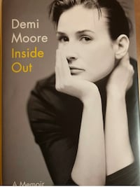Demi Moore Inside Out Memoir Book