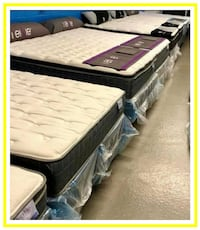 New - In the Plastic - Queen Mattress & Box Spring Sets - Bealeton