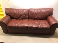 Leather couch Littleton