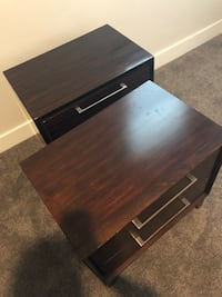 2 side tables / night stands. Good condition