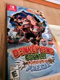 Switch Donkey Kong Tropical Freeze  Joint Base Andrews, 20762