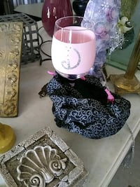 pink and clear wine glass Conroe, 77306