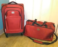 Dockers red softside luggage bags Houston, 77065