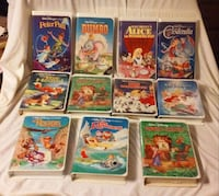 black diamond Disney tapes lot Grand Bay, 36541