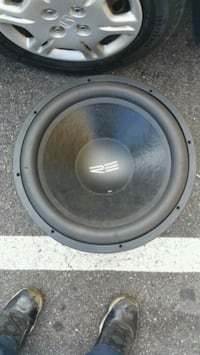 black and gray subwoofer speaker Tallahassee, 32301
