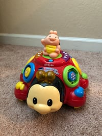 red and blue Fisher-Price learning toy 792 mi