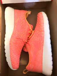Pair of red adidas yeezy boost 350 Montréal, H3W 2G1