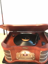Pyle vintage 3-1 record player