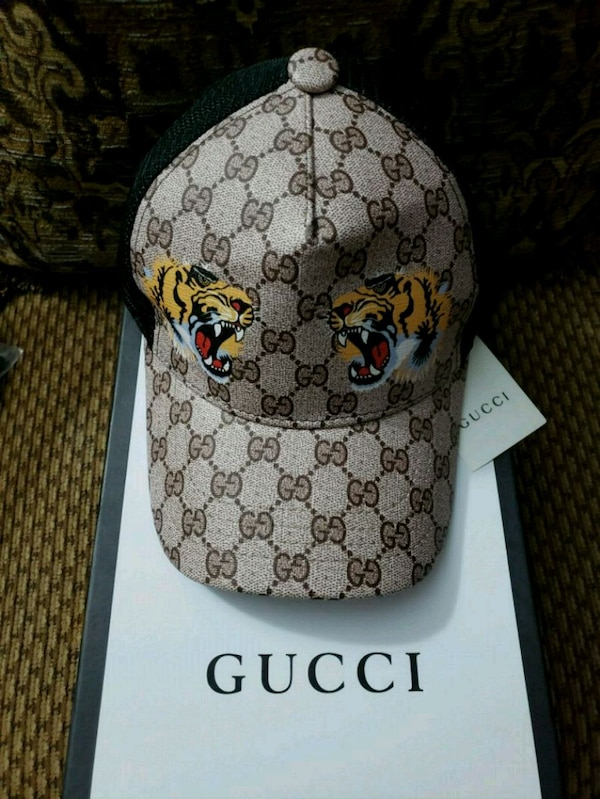 c54675d8695 Used Gucci hat (tiger print) for sale in Brooklyn - letgo