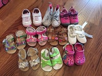 Girls Size 6 toddler shoes