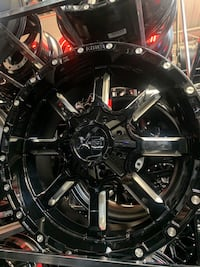 20 inch Dodge Ram wheels and tire package