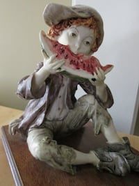 Vintage Statue of Boy Eating Watermelon Whitchurch-Stouffville