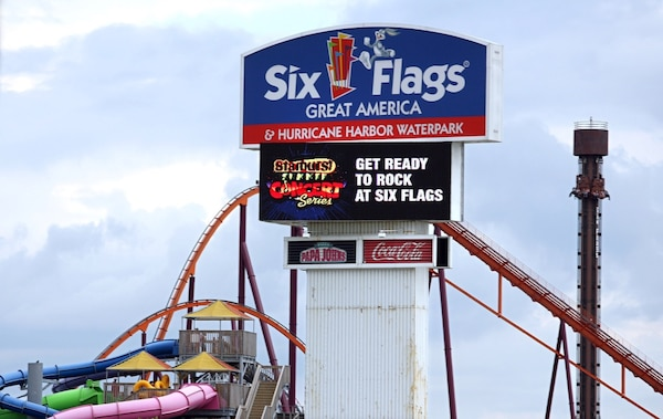 Used Six flags 2019 Gold Season Pass Voucher with Parking for sale