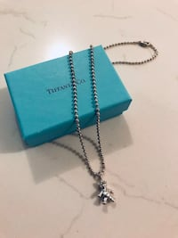 Tiffany&co. teddy bear necklace