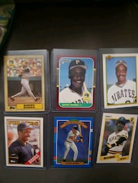 Baseball cards. Barry bonds rookie cards and more