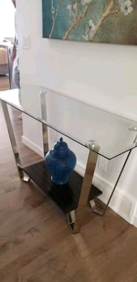 **IN GREAT SHAPE** GLASS CONSOLE TABLE Calgary, T2P 2V7